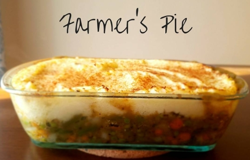 farmers pie cut